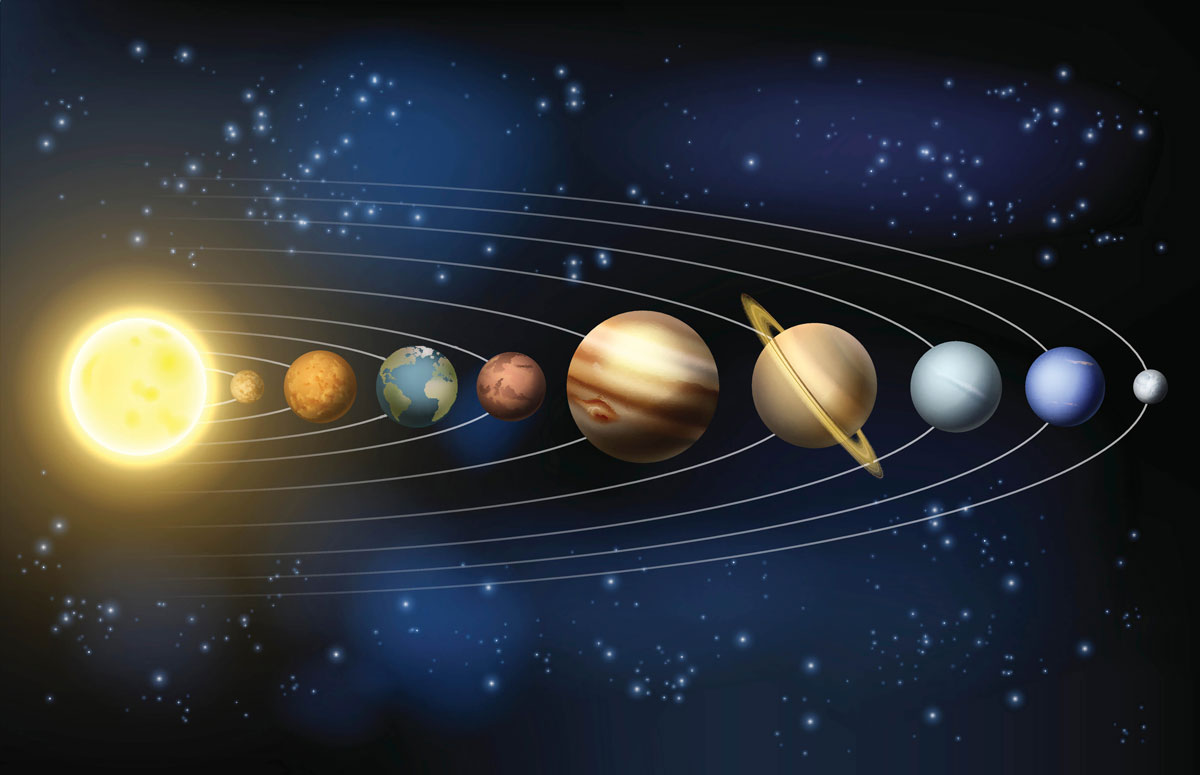 Exploring the Solar System at Home