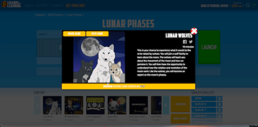 lunar wolves instructions
