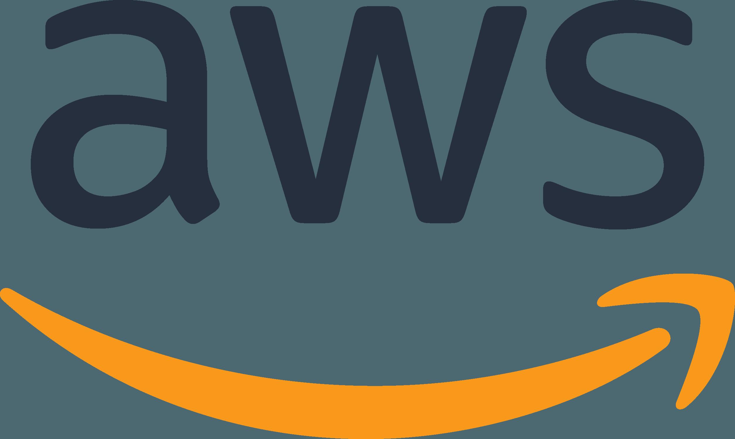 aws logo in color
