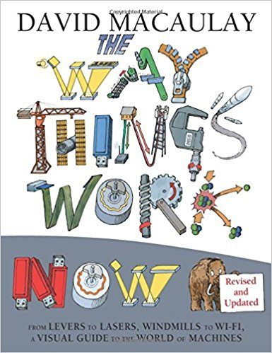 "MacCauley's ""The Way Things Work Now,"" a great book for inspiring STEM activities."