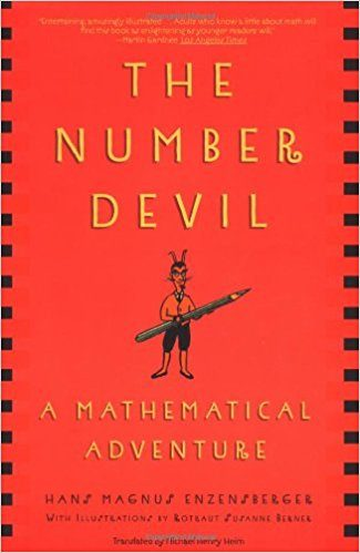 "Enzensberger's ""The Number Devil,"" a great book for inspiring STEM activities."