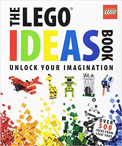 "Lipkowitz's ""The Lego Ideas Book,"" a great book for inspiring STEM activities."