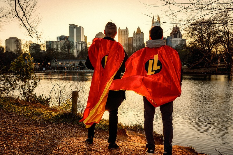Epic Superheroes Look on Atlanta