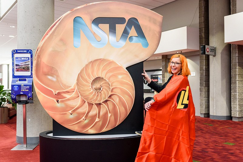 The NSTA Sea Shell was a great hit.