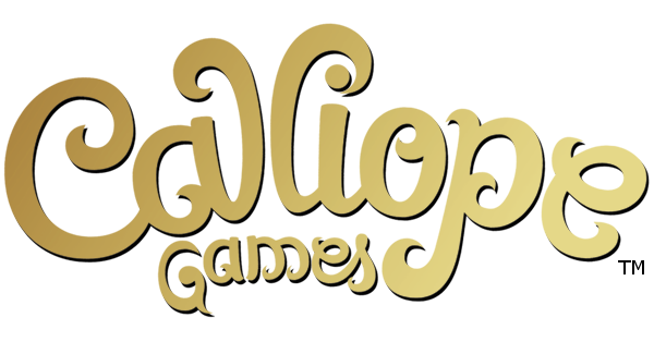 callope games gold and black logo