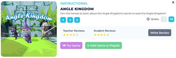 Angle Kingdom Game