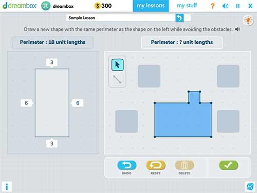Dreambox math game