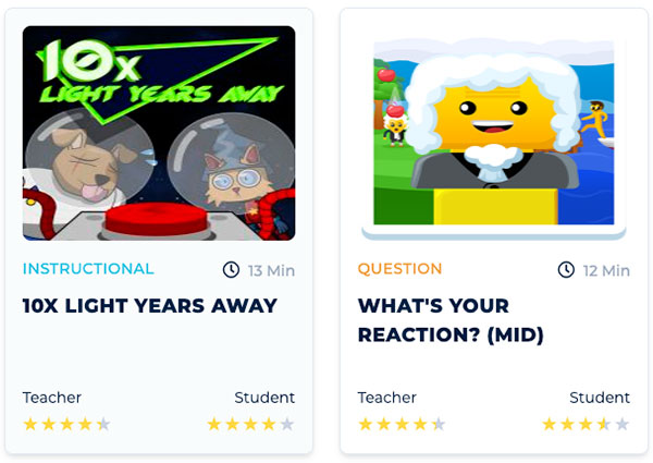 Game-Based Learning Game Examples